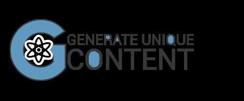 generate unique content