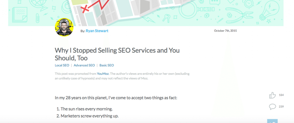 stop selling seo