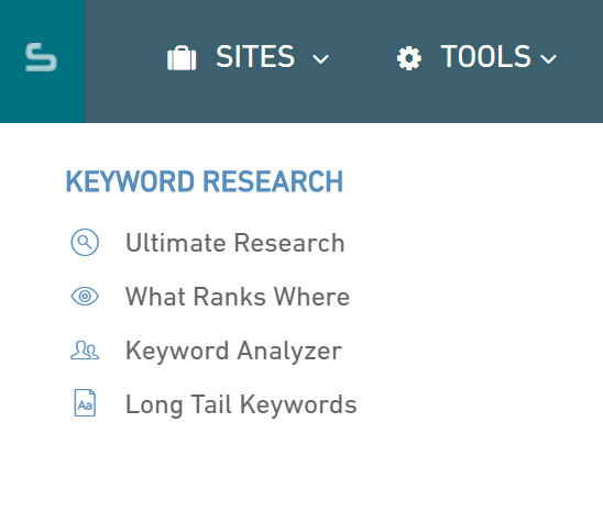 Keyword Research - Serped