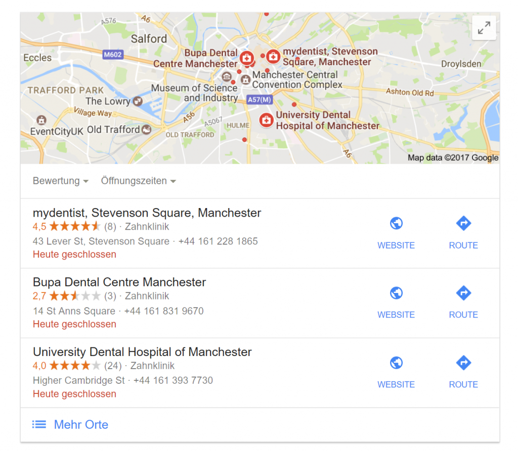 Google Local 3 Packs - Local SEO Ranking Factors