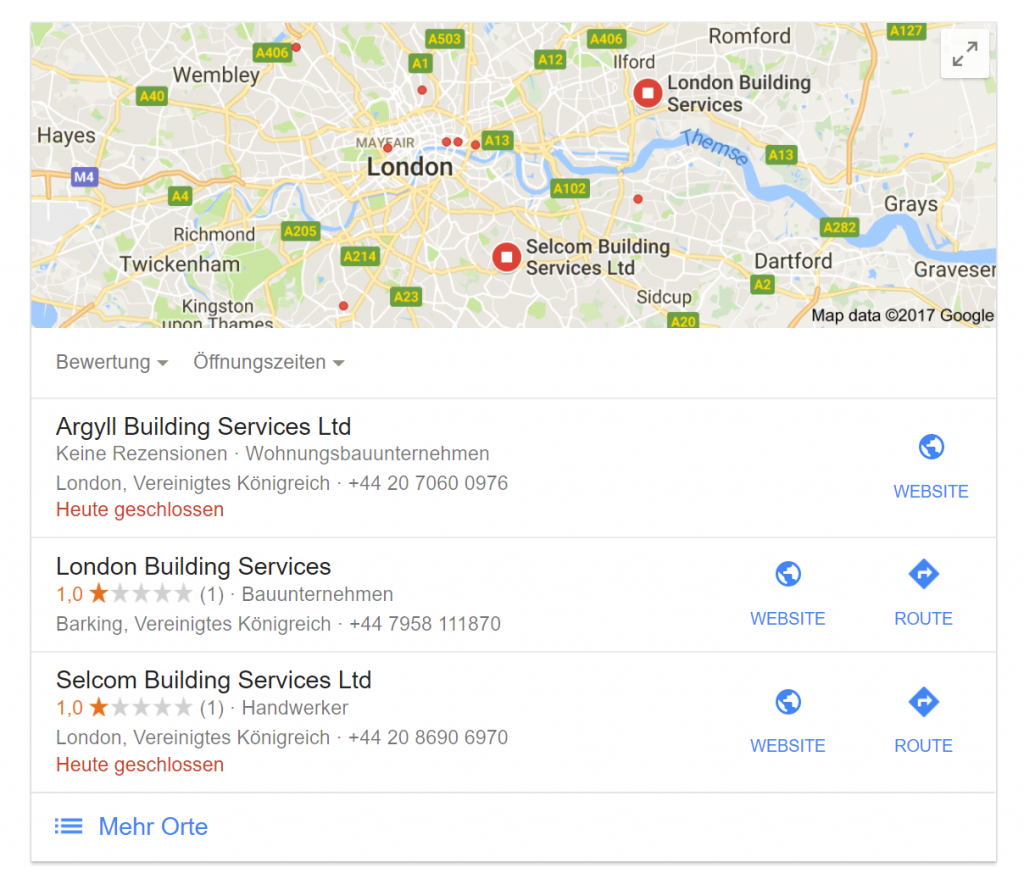 Add Product And Service Keywords To Your Listing - Local SEO Ranking Factors