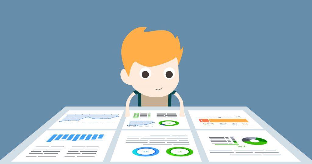 Data-driven content marketing reporting