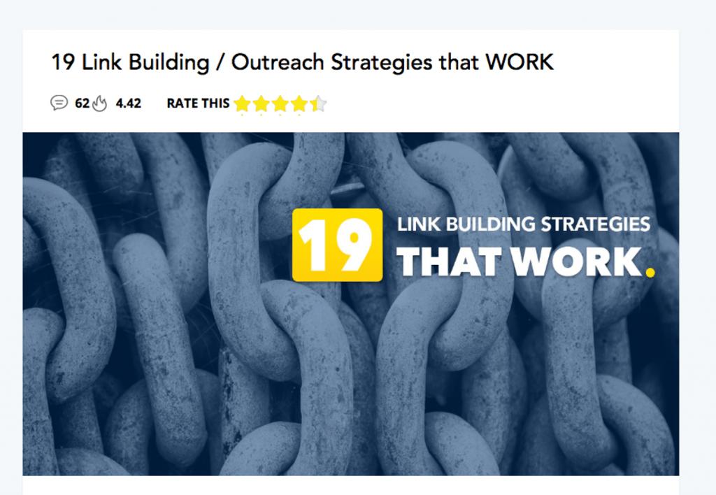 proven link building strategies