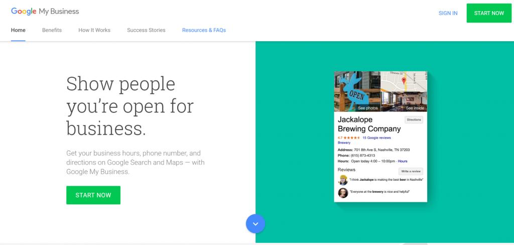 Google My Business - Local SEO Ranking Factors