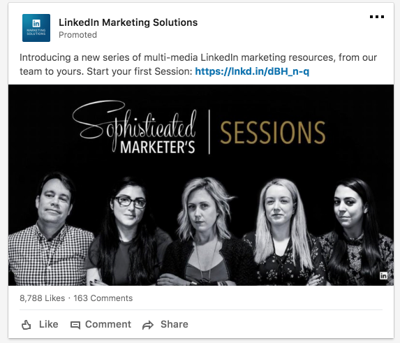 LinkedIn Ads for SEO agencies