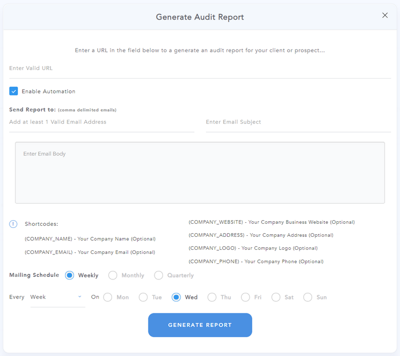 Automate Audit Reports