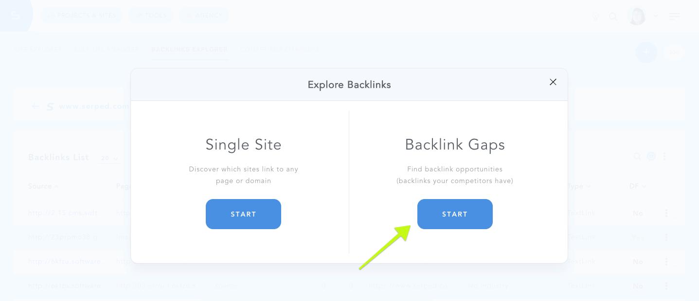 Backlinks Explorer 3