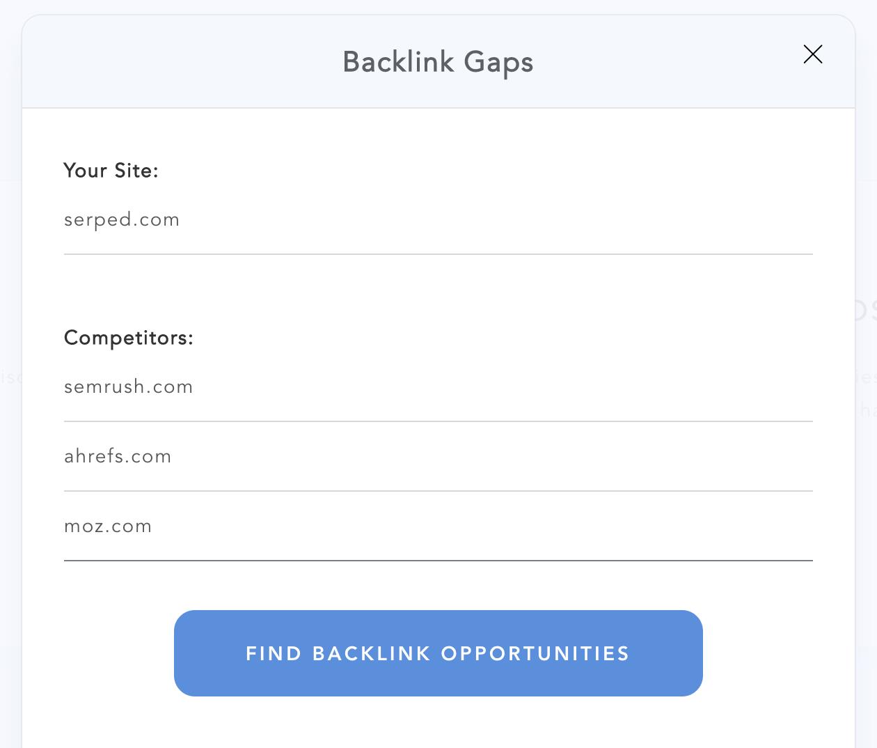 Backlink Gaps 2